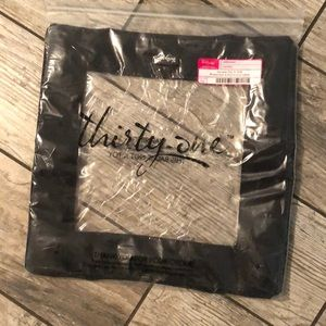 New Thirty-one Square Top-A-Tote Black
